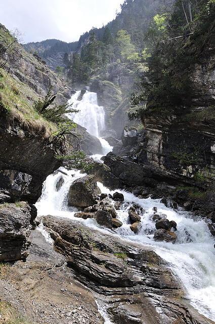 Weiter oben: Noch mehr Wasserfall